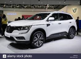 renault koleos brussels jan 19 2017 new renault koleos suv presented at the