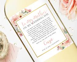 Good Presents For Mom by Mother Of The Bride Gift Wine Labels Wedding Gift For Mom