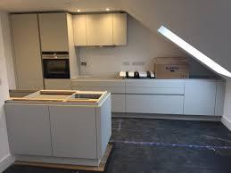 installation of 6 german built leicht kitchens in twickenham p