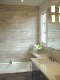 shower tiles but with a stripe of different color tiles to
