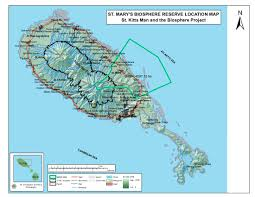 Map Of The Carribean St Kitts And Nevis Mab 2nd In The Caribbean Kittivisian Life