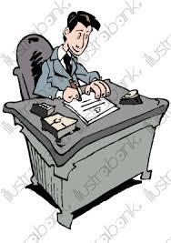 bureau de dessin un proviseur illustration au bureau libre de droit sur