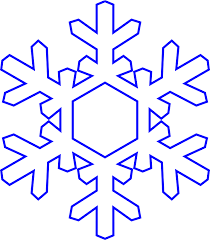clipart snowflake simply
