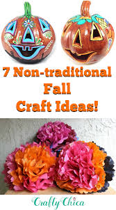 non traditional fall craft projects to try crafty chica