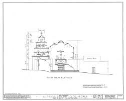 architectural drawings california missions resource center