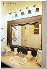 framed bathroom mirrors ideas add frame to bathroom mirror bathroom mirror frames for mirrors