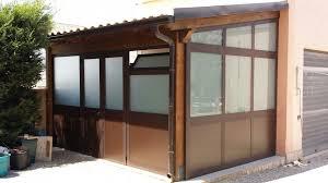 verande alluminio garofalo infissi verande veranda in alluminio marrone