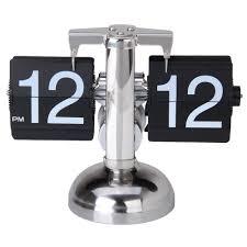 amazon com betus retro style flip desk shelf clock classic