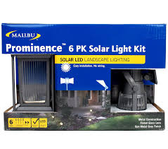 Solar Landscape Lighting Kits by Malibu 6 Pack Solar Led Light Kit Powered By Sunlight And