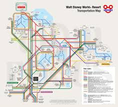 Dvc Map Advantages Of The Walt Disney World Bus System