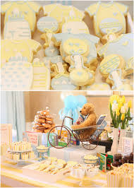 children s book themed baby boy shower pizzazzerie