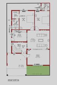 wonderful 5 marla house map in autocad images best inspiration