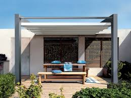 Coupe Vent Terrasse Retractable by Pergola Alu Toile Retractable Kirafes