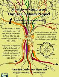 the tree ogham project a trail of human and tree entwinement at