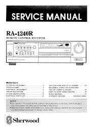 sherwood ra1240r service manual immediate download