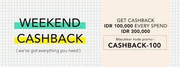 blibli weekend blibli com promo weekend cashback khusus untuk produk fashion pria