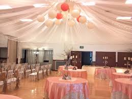 10 elegant cultural hall wedding receptions photos parachutes
