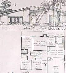 Split Level Floor Plans 1960s 1960s Ranch House Plans Mid Century Ranch House Plans Lrg 1970