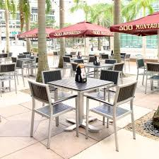 Commercial Patio Tables And Chairs Outdoor Furniture For Commercial Contracthospitality Spaces