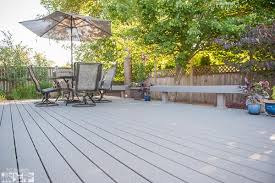 Trex Benches Trex Deck With Built In Benches Albany Oregon Tnt Builders