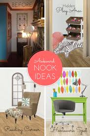 Nook Room Remodelaholic 3 Ways To Make The Most Of An Awkward Nook