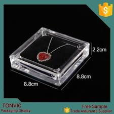 necklace display case images Acrylic necklace jewellery display packaging box custom design jpg