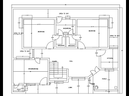 architectural floor plan autocad how to draw a basic architectural floor plan