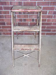 Painted Metal Vintage Cosco High Chair Benches U0026 Stools Kitchen U0026 Furniture Collectibles