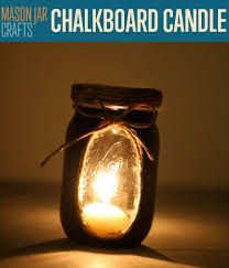 chalkboard candle lights diy projects craft ideas how to s for