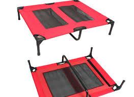 oz crazy mall pet bed trampoline dog cat puppy hammock canvas dog