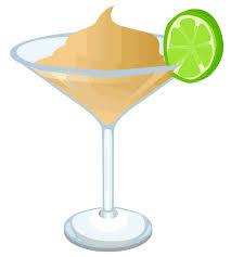 martini svg clipart creamy martini glitch remix