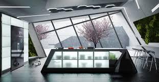cuisine design luxe une cuisine design futuriste vue par les yeux des cuisinistes d