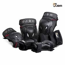 bike riding gear buy jbm bmx bike knee pads and elbow pads with wrist guards