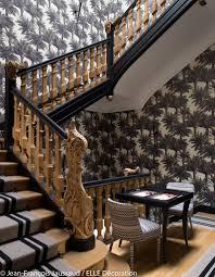 escalier peint 2 couleurs une splendide maison très exotique elle décoration