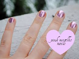 polish colors chrome metallic nail polish amazing metallic pink
