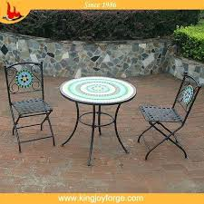 Tile Bistro Table Outdoor Mosaic Bistro Table Bistro
