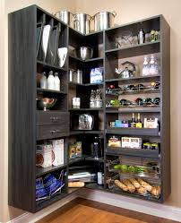 apartments tasty yellow pantry storage wooden materials for