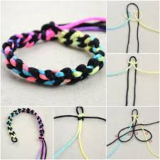 make bracelet string images How to diy simple two string bracelet jpg