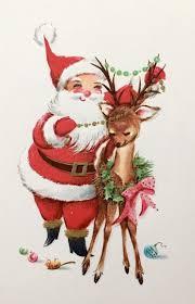 vintage christmas vintage christmas vintage santas sleigh silver deer reindeer