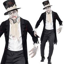 Halloween Bride Groom Costumes La Sposa Cadavere Costume Sposo Cadavere Halloween Zombie