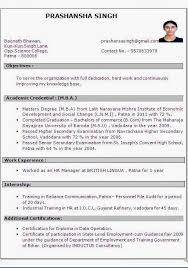 Mba Resume Sample by Experienced Mba Resume Format Resume Format