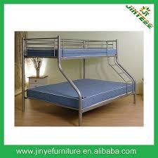 Metal Bunk Bed Trio Triple Double Single  In  Deluxe Furniture - Triple trio bunk bed