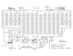 Expo Floor Plan by Floorplans Benchmark Expo