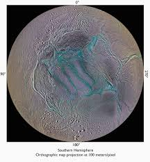 geysers from the tiger stripes of enceladus