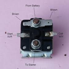 elecrical problem at starter solenoid spitfire u0026 gt6 forum
