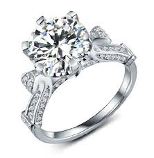 rings solitaire designs images 3ct novel 2014 white gold diamond engagement solitaire ring for jpg
