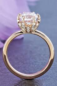 Engagement Ring And Wedding Band by Best 25 Wedding Rings Rose Gold Ideas On Pinterest Rose Gold