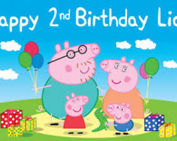 peppa pig birthday peppa pig birthday banner pig birthday peppa pig birthday cake