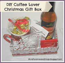diy christmas gift ideas how to make coffee lovers christmas gift