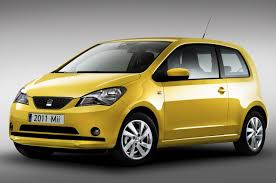 volkswagen up yellow 2012 seat mii subcompact car based on volkswagen up